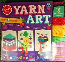 Yarn Art by Klutz Book and Craft Kit ISBN 781338271188