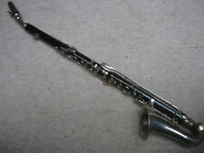 "old wooden alto Clarinet (?) made by ""Walter Stowasser Bolzano"""