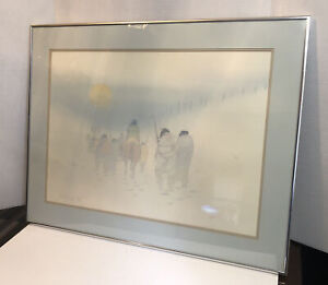 DONALD VANN Signed Limited Edition TRAIL OF TEARS Native American Lithograph