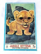 Gig Keane Jungle Kittens Picture Jig Saw Puzzle