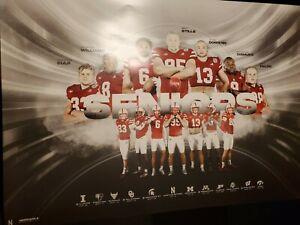 Nebraska Football 2021 Season Poster Seniors