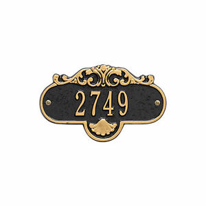 Rochelle Petite Personalized Address Plaque