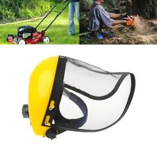 Mesh Safety Visor Full Face Shield Eye Protection Shredder Garden Outdoor Helmet