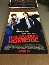 HOLLYWOOD HOMICIDE- 27x40 Original DS Movie Poster - Harrison Ford