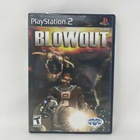 Blowout (Sony PlayStation 2, PS2) Complete Tested Working
