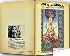 Jim Fitzpatrick Celtia signed paperback Art Nouveau 1975 Uk Ed danann 126881