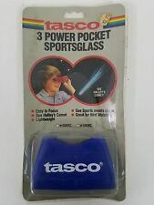 Vintage 1985 Tasco 3 Power Pocket Sportsglass NIB 500BC