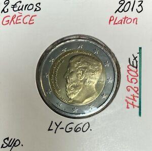 Grèce - 2 Euro 2013 - Platon