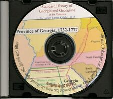 Standard History of Georgia  - Six Volumes - Genealogy