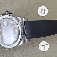 20mm Curved End Links +Spring Link Bars Watch Strap Bracelet Links Spare Parts