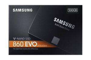 HARD DISK Samsung 860 EVO SSD 500GB SATA3 MZ-76E500B/EU FATTURABILE