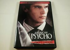American Psycho Dvd Killer Collector's Edition Uncut Version Christian Bale