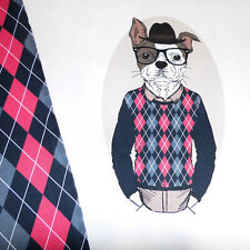 "Auktion : BW - Jersey Panel "" Mini Clever - Dog "" / Hund mit Kombistoff"