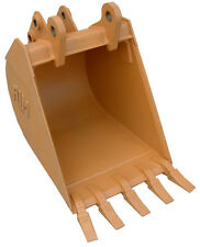"""New 24"""" Case 580 Backhoe Bucket with Coupler Pins"""