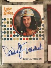 Daniel J. Travanti Autograph Auto Lost in Space Card as Space Hippie