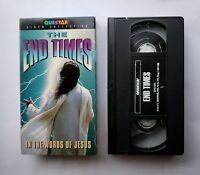 Questar VHS The End Times In The Words Of Jesus 2000 Gospeloitation Horror HTF