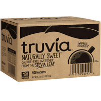 Truvia Natural Stevia Sweetener Packets, 35.25 Ounce, 500 Count Pack