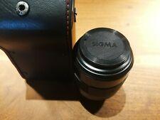 Nikon Mount Sigma AF-K-70 210mm 1:4-5.6 Camera Lens with Leather Lens Case