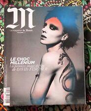 M Le magazine du MONDE / 10-2011 / MILLENIUM David FINGHER ; Christian LOUBOUTIN