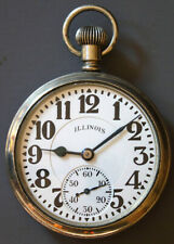 Special Model 11 Pocket Watch 3948372 Illinois 16 Size 23 Jewel Bunn