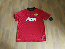Nike MANCHESTER United CLEVERLEY No 23 + Patch FOOTBALL Shirt XL NEW with TAGS
