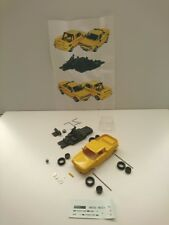 Kit NSU 1000 TTS Pick up engine rear bonnet open JPS yellow factory paint  1/43