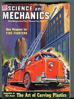 Science And Mechanics Magazine October 1949 Fire Fighters Weapons 070517nonjhe