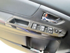 Dry Carbon Fiber Cover Trim For Subaru WRX STI 4th Interior Window Switch Panel
