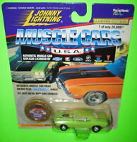 Johnny Lightning Muscle Cars USA 1970 Dodge Challenger Series 1 #12714 LE 1996