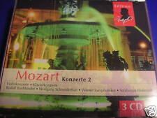 Mozart Konzerte 2 Violinkonzerte Klavierkonzerte Wiener