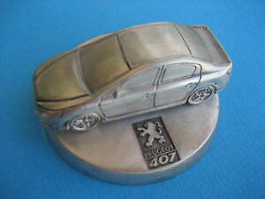 PEUGEOT 407 - SILVER COPPER DISPLAY ! NEW. UNIQUE. AMAZING. RARE.