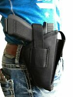 Gun holster with Magazine pouch and belt loop for Smith & Wesson 40 9mm