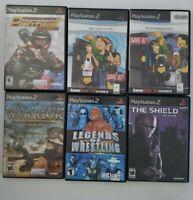 Playstation 2 games lot 6 GAMES