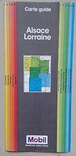 MOBIL carte guide région Alsace Lorraine