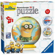 Minions 72 Piece 3D Puzzle from Ravensburger