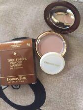 Set Of 2 Fashion Fair True Finish Pressed Powder Makeup FF4 Brun Tendre 2216 Nib