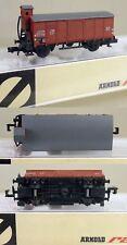 KF124 | Arnold N 0426 - gedeckter Güterwagen mit Bremserhaus