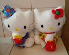 2000 McDonald's Sanrio Hello Kitty Dear Daniel Couple Set Doll Plush Toys BNWT