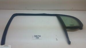 05-06 PONTIAC PURSUIT REAR LEFT DRIVER SIDE DOOR WINDOW GLASS OEM