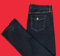 BANANA  REPUBLIC .. Boot .. Stretch Bootcut Denim Blue Jeans .. Size 29 / 7 / 8