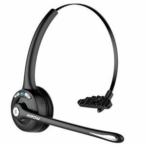 Mpow Wireless Headset Bluetooth 5.0 Kopfhörer mit Drehbar Mikrofon PC Headphone