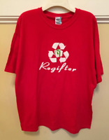Regifter Mens XL Red T-Shirt Christmas Funny
