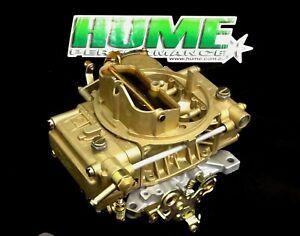 GENUINE HOLLEY 600 CFM SQUARE BORE MANUAL CHOKE REMANUFACTURED CARBURETTOR