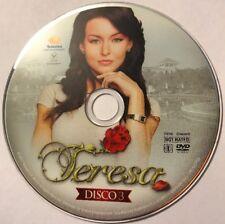 TERESA Telenovelas Populares DVD Disco 3 No Case No Art
