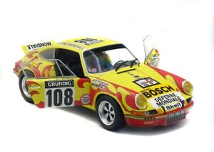 Porsche 911 Carrera Rsr #108 Tour Auto 1973 SOLIDO 1:18 SL1801109