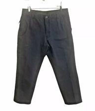 G.H. Bass & Co Men's Canvas Terrain Gray Pants Stretch Pocket Size 36x30 NWT