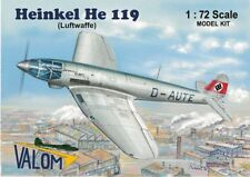 Heinkel He 119 V4 Prototype (1/72 model kit, Valom 72100)
