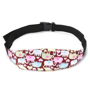 Baby Sleep Belt Adjustable Head Support Holder Safety Car Seat Kids Nap Aid Band