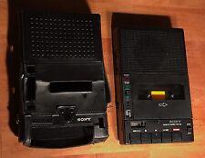 Vintage Sony Cassette-Corder TCM-260 w/ Case