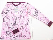 LA Shirt Gr.116 /122 Joha NEU Schaf rosa lila Winter kinder unterhemd warm WSV